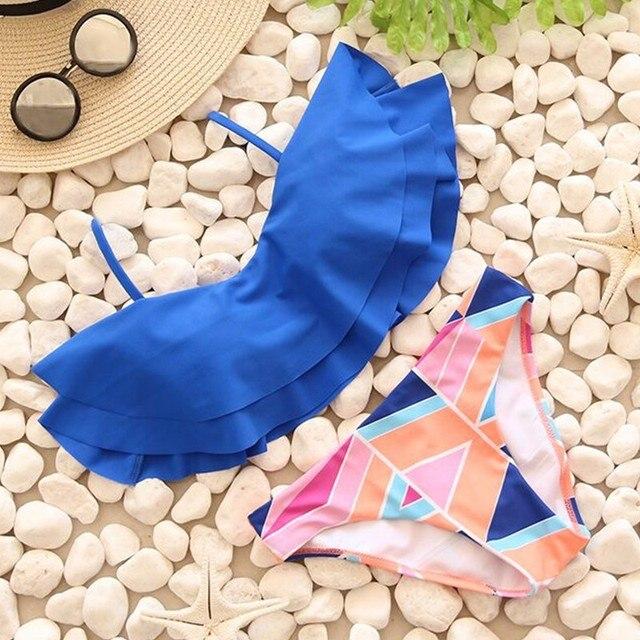 Sexy Bandeau Print Brazilian Bikini 10