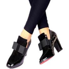 b9e5ae0f18f3bd Nouveau 100% rouge fond semelle talons hauts pompes bout carré en cuir  véritable chaussures femmes