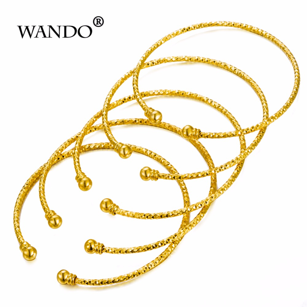 Wando 5pcs/lot Gold Colour...