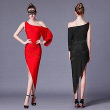 f59606e9 Adulto vestido de baile latino para mujer 2018 nuevo traje Samba latina  baile traje de baile de Tango vestidos de baile de Salsa.