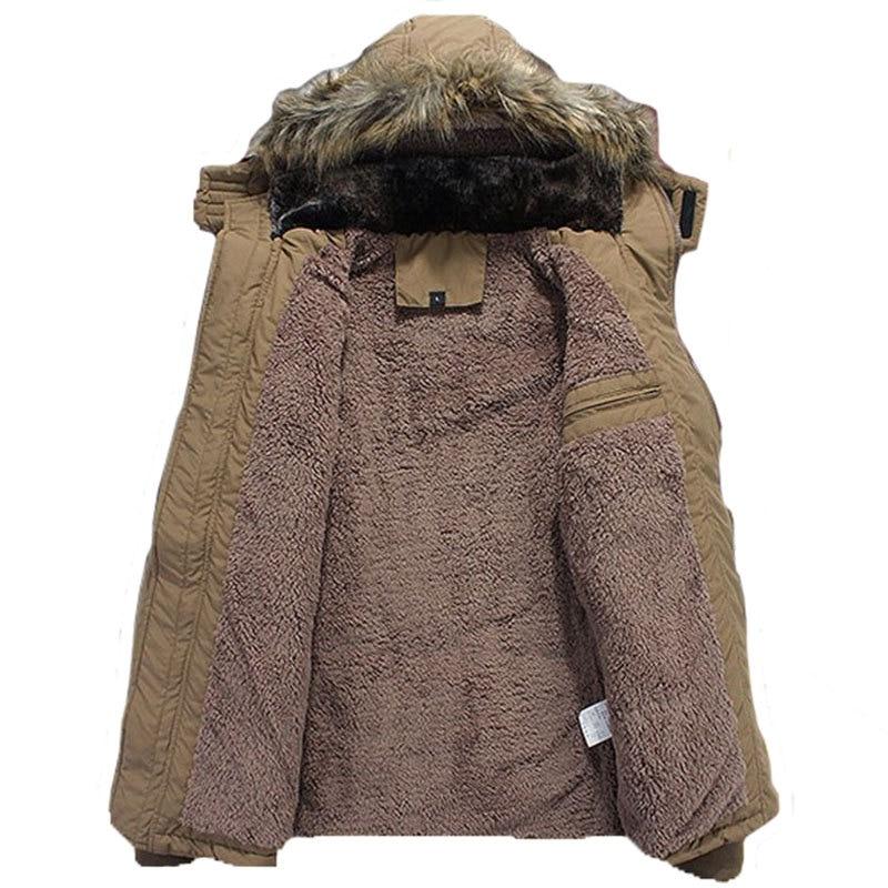 2016 zimska jakna za muškarce plus veličina M-4XL topla debela runo - Muška odjeća - Foto 5