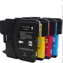 4x Compatible Ink Cartridge for Brother LC 985 LC975 LC67 LC1100 LC980 XL Ink Cartridge for Brother DCP 185C 195C 9805C Printer