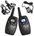 2PCS Long Talk Range TS628 Portable Walkie Talkie Black ham radio comunicador FRS GMRS 22CH hf transceiver w/ charger earphones