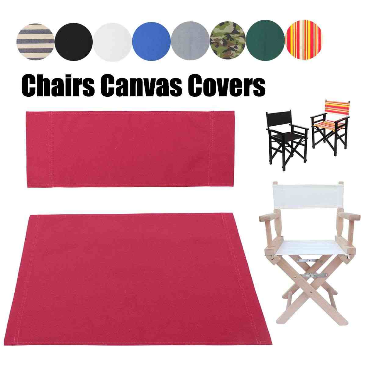 Fantastic Replacement Canvas Directors Chairs Cover Stool Protector Creativecarmelina Interior Chair Design Creativecarmelinacom