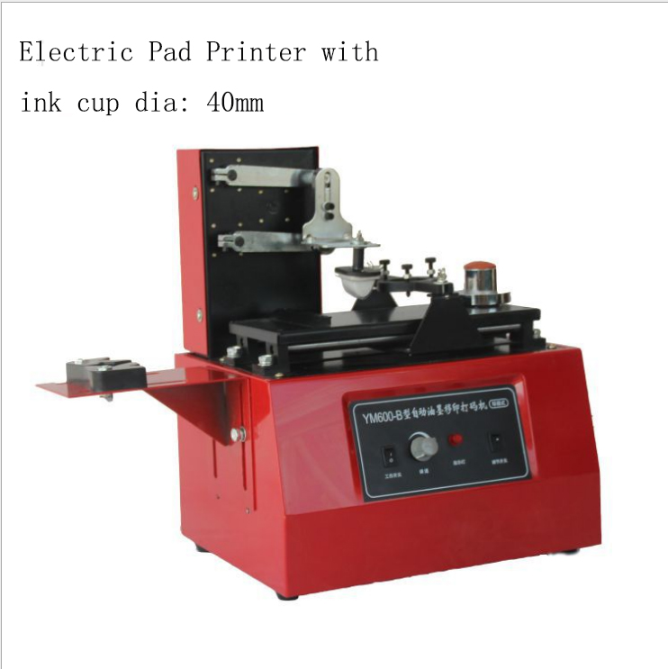 electric pad printing machine ink cup dia 70mm
