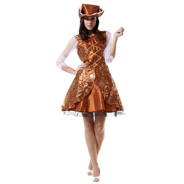 style distinctif meilleur service style classique de 2019 € 21.75 37% de réduction|Livraison gratuite Halloween carnaval costume fête  performance Goethe princesse robe Cos bar luxe femme pirate vêtements ...