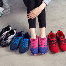 2017 Brand New Running Shoes for Woman Man fashinon sneakers nice sport Lifestyle Lace up shoe mesh breathable wearable MD 45