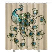 peacock shower curtain waterproof hot sale 3d fashion hot sale bathroom curtains peacock
