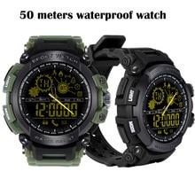 Купить с кэшбэком DX16 Smart Watch IP68 Waterproof swimming Long Standby Time Bluetooth 4.0 Sport Watch Men Smartwatch Pedometer For IOS Android