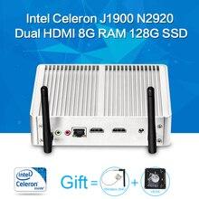 Mini PC ,Tablet Case ,Celeron N2920 J1900,Barebone,Fanless Motherboard ,2*HDMI 6USB,Laptop Thin Client