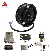 QS 14000w Motor High Speed 150kph with full conversion kits battery charger for Electric Racing Motorcycle