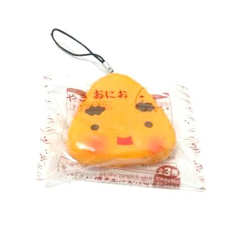 Kuutti Squishy Random 1 pc Lovely Japan Sushi Food emoji rice Kawaii Mobile phone strap New Arrival Hard PU 2