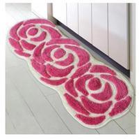 Vente chaude épaissie tapis de sol commerce Européenne rose mignon bébé anti-skid pad tapis chambre/de bain slip-résistant tapis tapis 50 cm * 120 cm