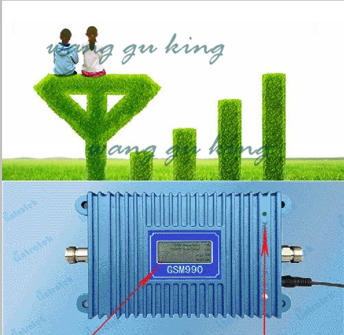 LCD Display !!!Free Drop Shipping GSM 990 Signal Booster GSM 900MHz Signal Repeater Amplifier Coverage 3000 Square