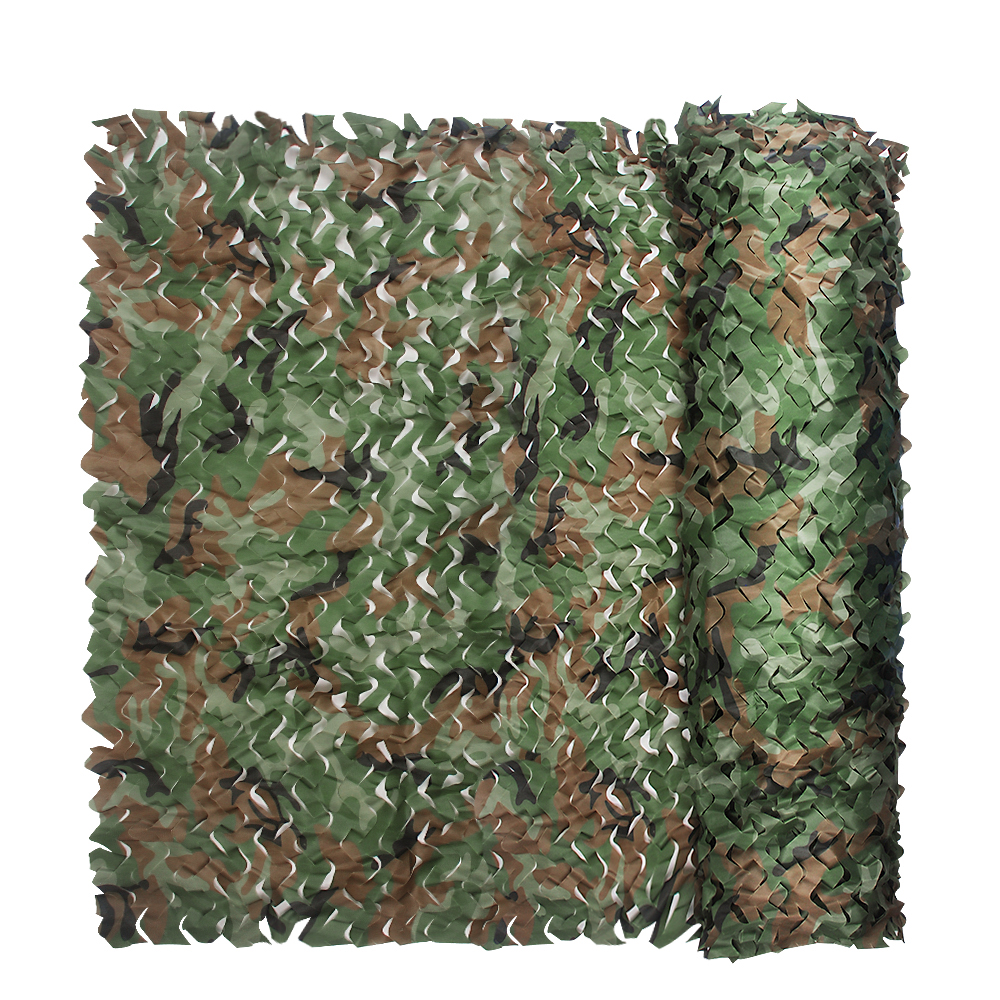3*6 M 150D Polyester militaire Camouflage Net chasse aveugle arbre Stand soleil UV auvent pour chasse Camping chasse accessoires aveugles
