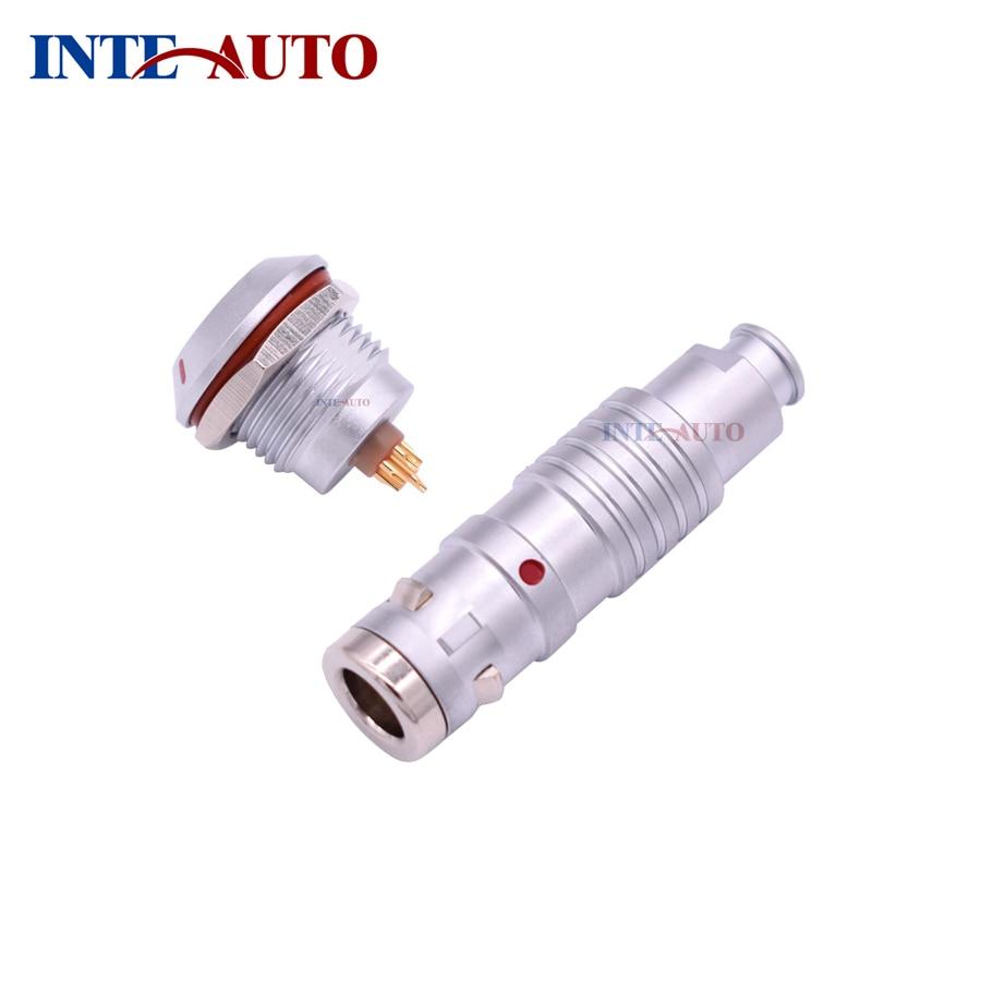 Stanexco 0K series IP66 IP67 IP68 connector, 6 pins waterproof cable plug receptacle,TGG.0K.306 ZGG.0K.306