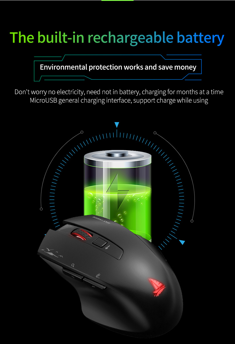 Cerreat Smart Voice Translation Mouse Portable Instant Intelligent speech translateTypingSearch 2.4G Wireless Mouse with Enter Key 24 Target Languages (11)
