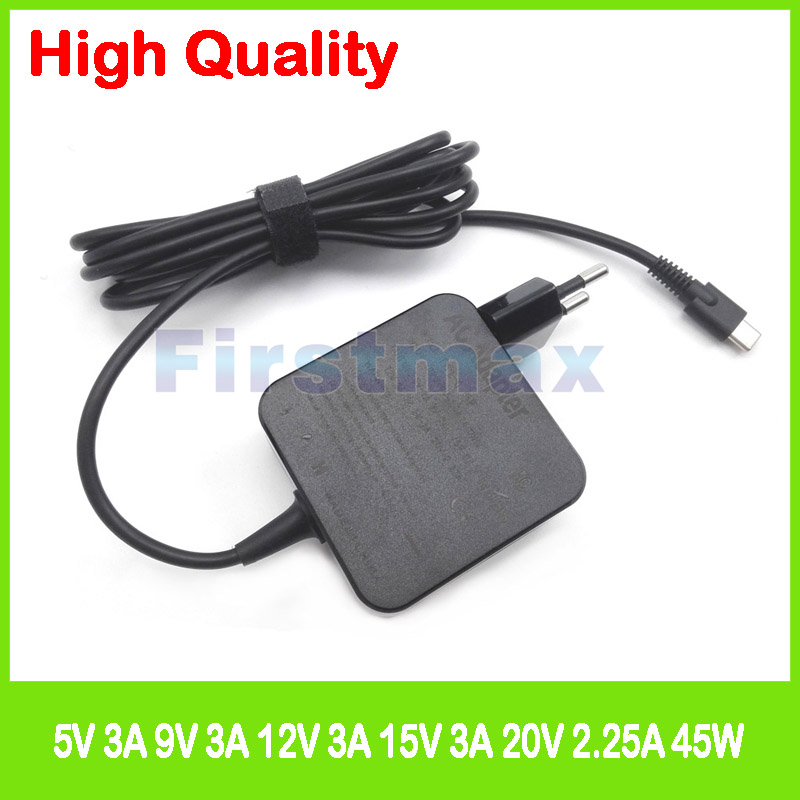 45W USB-C type C ac power adaper laptop charger for Acer Spin 7 SP714-51 Swift 7 SF713-51 SF714-51T EU Plug45W USB-C type C ac power adaper laptop charger for Acer Spin 7 SP714-51 Swift 7 SF713-51 SF714-51T EU Plug