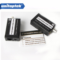 IP Extender Over Coax HD Network Coaxial Cable Transmission System Extender Cable Signal Amplifier Ethernet 400m