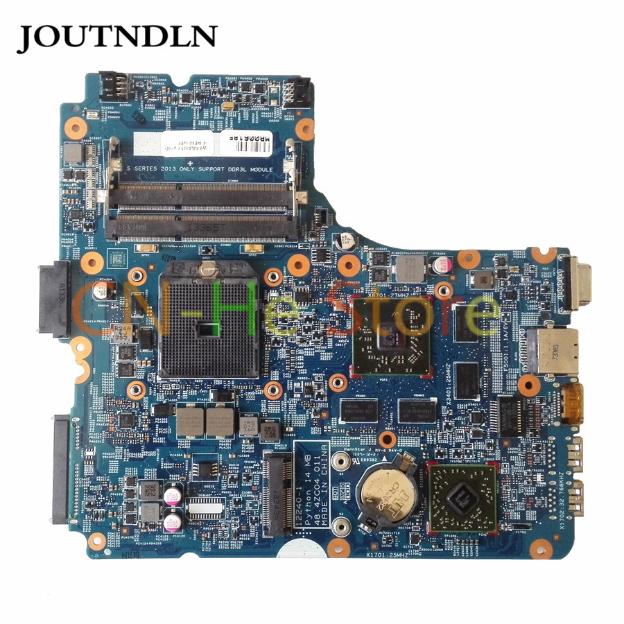 JOUTNDLN FOR <font><b>HP</b></font> PROBOOK <font><b>455</b></font> G1 Laptop <font><b>Motherboard</b></font> 722821-501 722821-001 722821-601 48.4ZC04.011 w/ 8750M 2GB image
