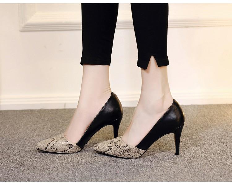 comfortable high heels pointed toe high quality snake grain elegance shoes - free shipping! Comfortable High Heels Pointed Toe High Quality Snake Grain Elegance Shoes – Free Shipping! HTB1km60NXXXXXb0XpXXq6xXFXXXo