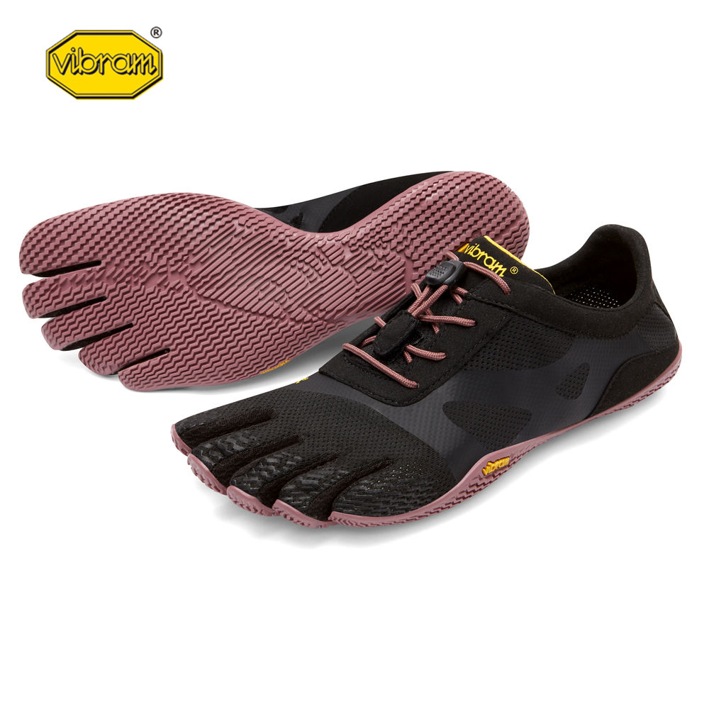 цена на Vibram KSO EVO fivefingers Hot Sale Design Rubber with Five Fingers Slip Resistant Breathable Light weight Shoe for Women