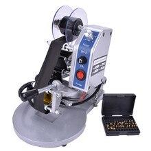 DY-8 цветная лента Горячая печатная машина прямой тепловой фольги ручной штамп принтер кодировочная машина Дата ленточный кодер