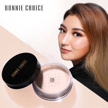 BONNIE CHOICE Loose Powder Makeup Finishing Waterproof Cosmetic Long Lasting Transparent  Setting 3 Colors
