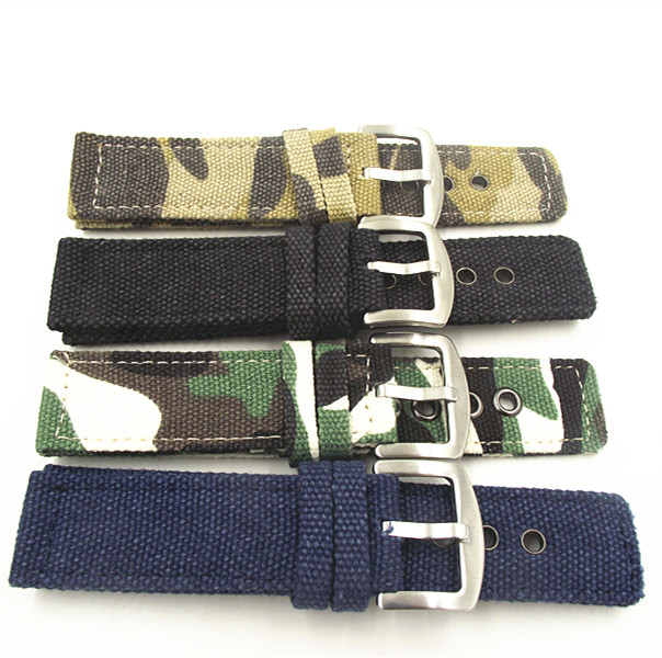 1PCS Fabric straps 18mm 20mm 22mm 24mm Fabric Watch band NATO strap short zulu strap watch strap wholesale 10pcs lot 18mm 20mm 22mm 24mm nato strap genuine leather coffee color watch band nato straps zulu strap watch straps