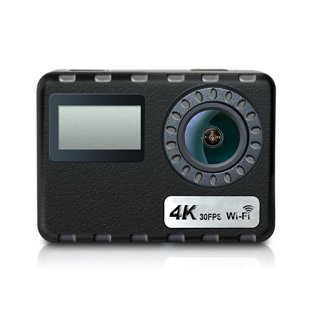 4 K 16MP écran tactile Wifi caméra Ultra HD 30 m sous-marine étanche numérique caméra vidéo à distance sport casque caméscope
