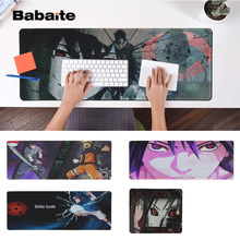 Babaite Boy Gift Pad Sasuke Uchiha - Naruto  Silicone large/small to Mouse Game Free Shipping Large Keyboards Mat