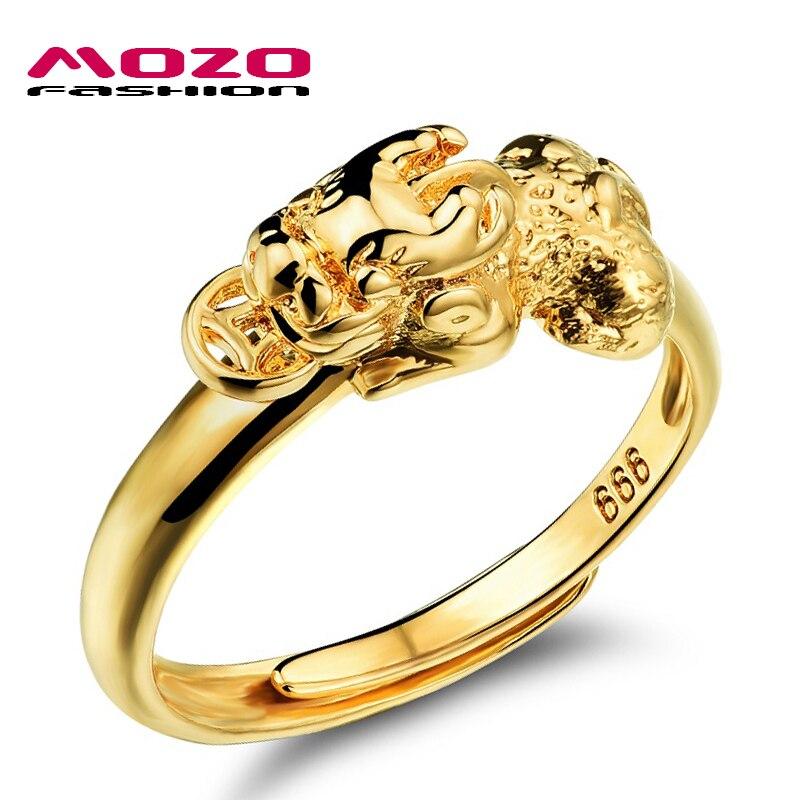 New Arrival Fashion Women Jewelry Gold Color Pi Xiu Shape