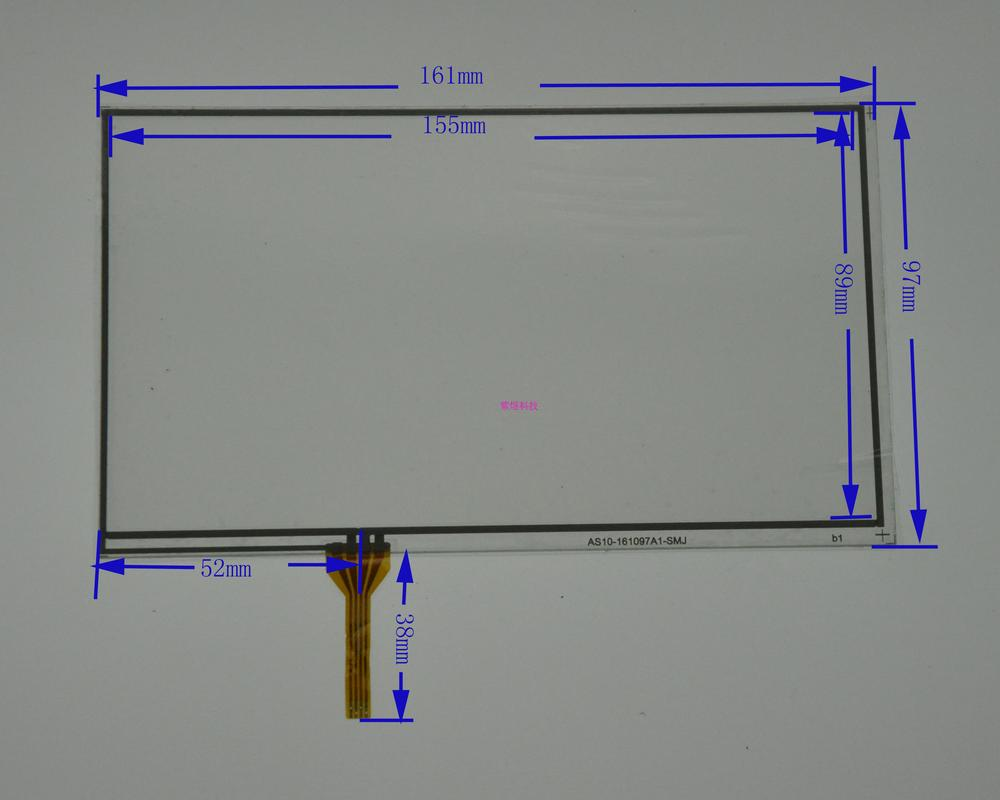 7 Inch Four Wire Resistive Touch Screen 162 97 Onda Vx610w Lang Wiring Diagram Enhanced Handwriting A2286f G Replacement In Tablet Lcds Panels From Computer Office