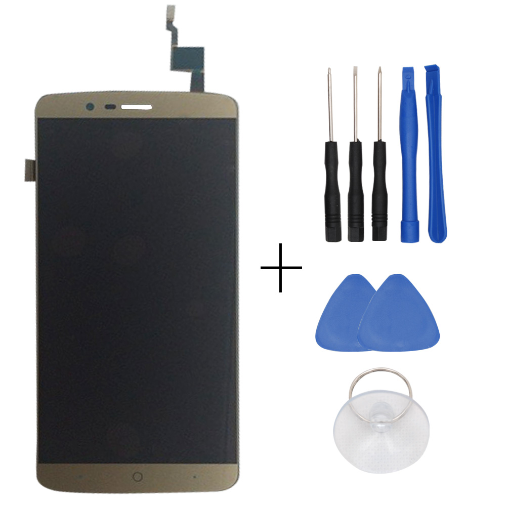 In Stock Original Golden For Elephone P8000 LCD Display And Touch Screen Assembly For Elephone P8000 Free Shipping