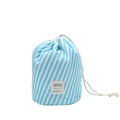 DIHFXX Women Lazy Drawstring Cosmetic Bag Fashion Travel Makeup Bag Organizer Make Up Case Storage Pouch Toiletry Beauty Kit