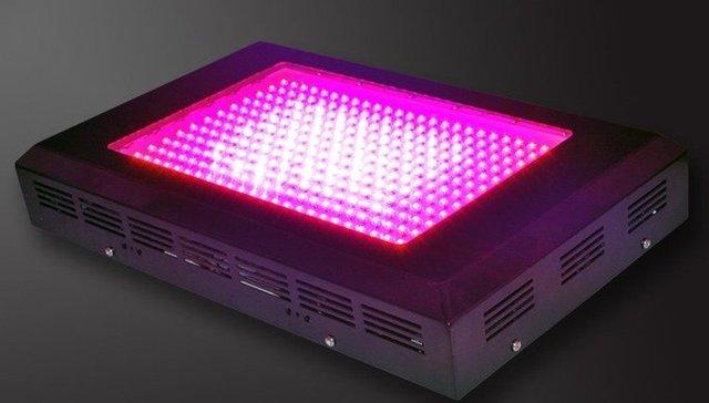 600W LED grow light,288*2W,use 2W led chip,red(630nm):blue(470nm)=8:1