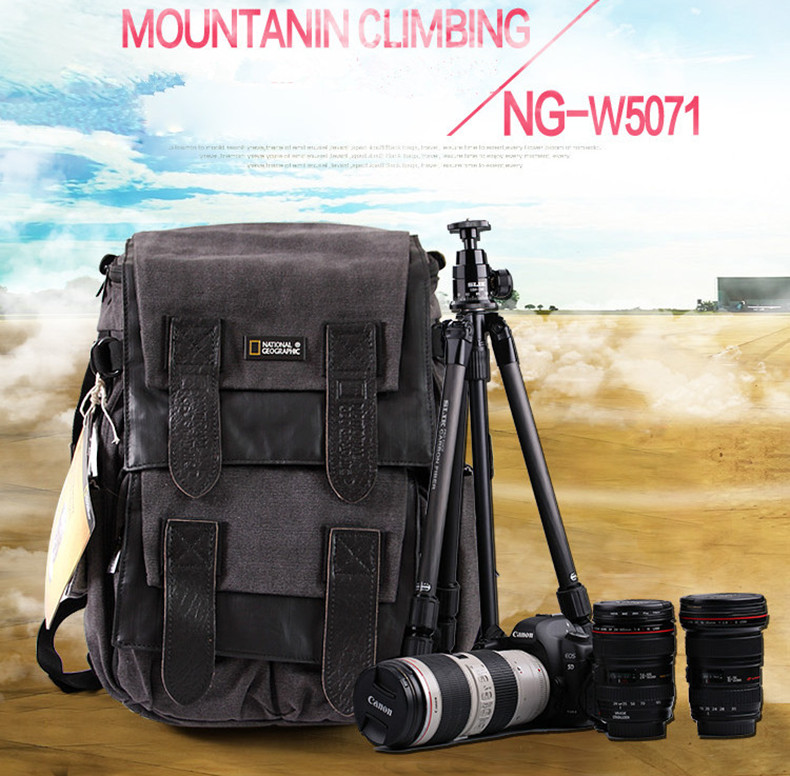 ФОТО Free shipping New National Geographic NG W5071 Camera Case Bag Shoulders Bag Backpack Rucksack