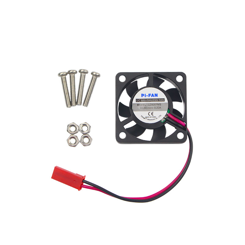 Raspberry PI 2 Fan high quality Cooling Fan for Customized Acrylic Case Support raspberry pi model B Plus B+ computer cooling