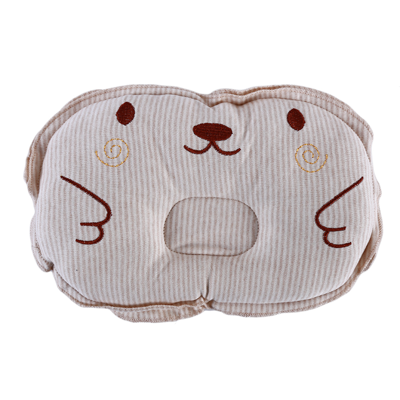Baby Style Pillow Velvet Piggy Embroidery Neonatal Anti-deviation Pillow Moderate Price Hair Accessories Baby & Toddler Clothing