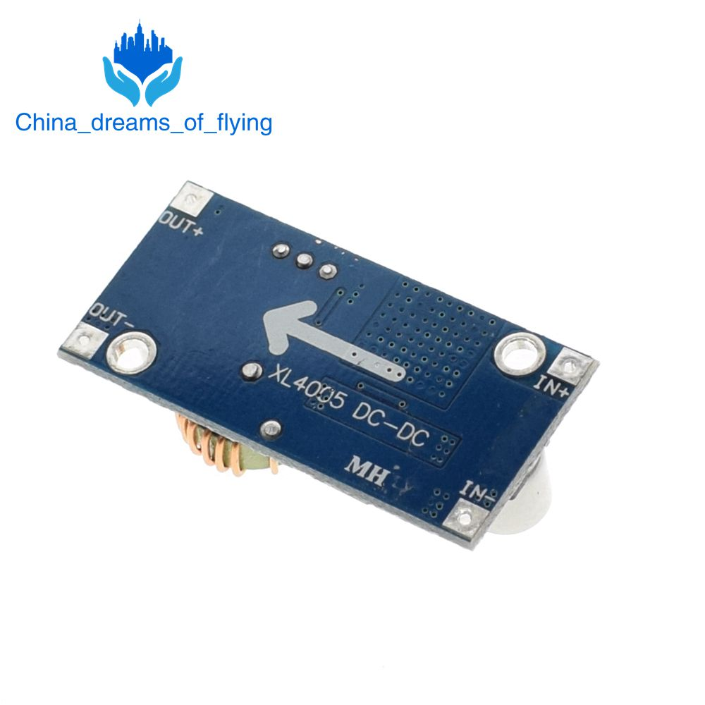 Tzt 1pcs Xl4005 Dsn5000 Beyond Lm2596 Dc Adjustable Step Down 5a Power Supply Module5a Large Current In Integrated Circuits From Electronic