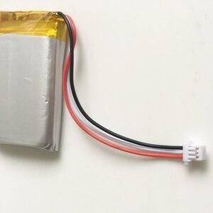 3,7 V 500mAh литий-полимерная LiPo аккумуляторная батарея с JST 1,0 мм 3-контактный разъем 582535 для Mp3 GPS bluetooth камеры часы