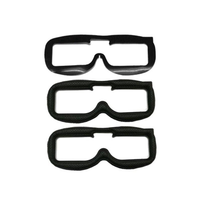 Tecido De Couro 2 pcs Faceplate KIT Pad Para Fatshark FPV Óculos Modelos de RC Multicopter Substituição de peças de Reposição Acessórios