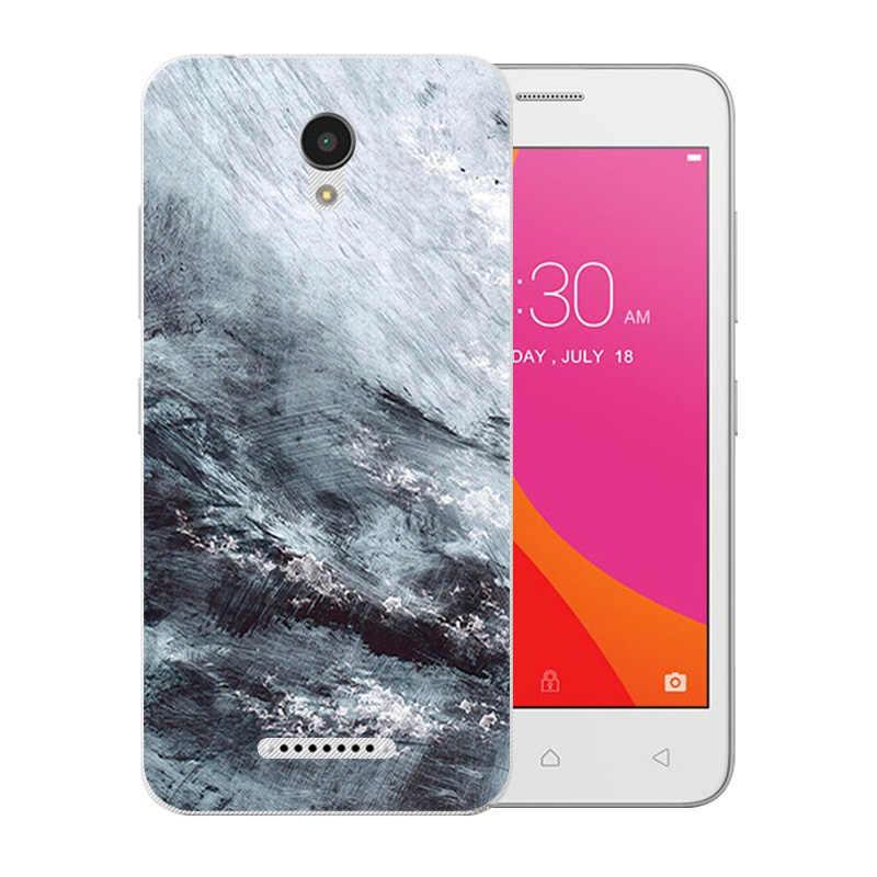 Flexible de lujo para Lenovo Vibe B A2016 A20 A Plus APlus A1010a20 A 1010 A2016A40 patrón de silicona suave cubierta teléfono caso
