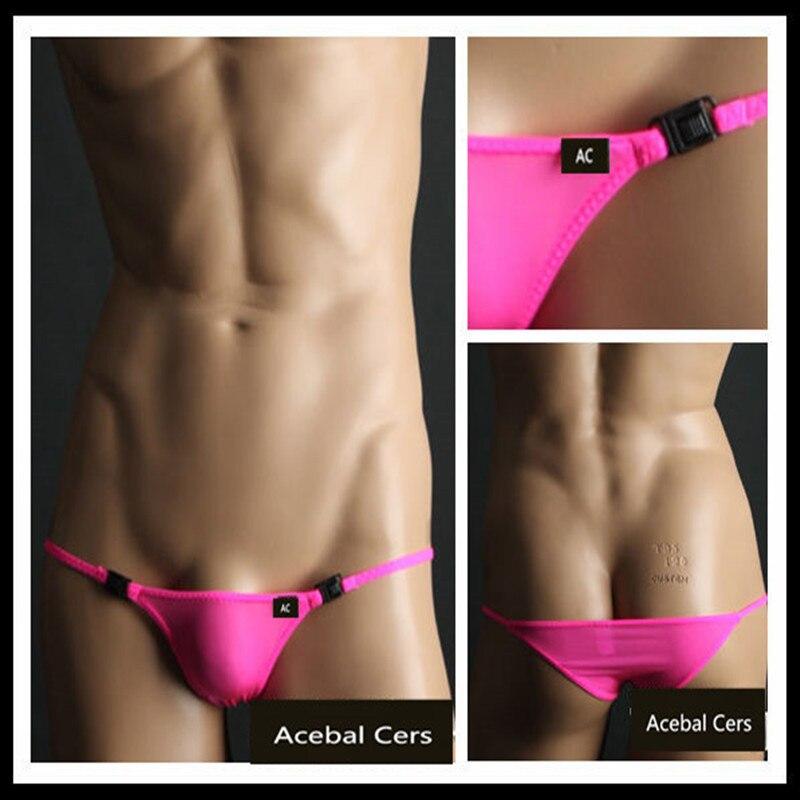 Acebal Cers 2019 TM Sexy Men's Underwear Hipster Bikini Mens Bikini Underwear Brand Male Ultra-low And Thin Elastic Briefs