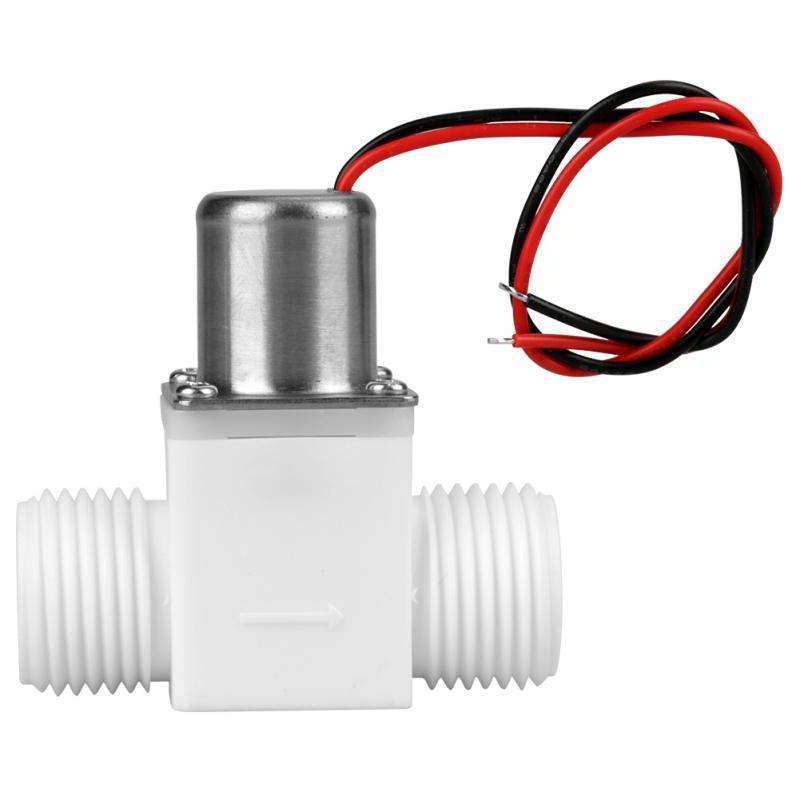 Accesorio de herramientas de válvula solenoide de pulso eléctrico de Control de agua CC 3,6 V de 1/2 pulgadas de plástico duradero