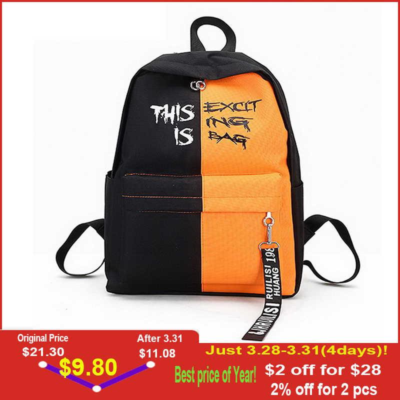 facb3b80b22b DIINOVIVO Fahion нейлоновый женский рюкзак женские рюкзаки в Корейском  стиле для девочек-подростков для школьных