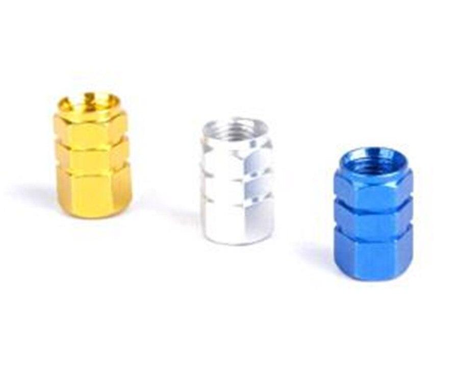 4 Pieces A SET multicolour General model alloy air valve of a tyre decoration cap Automobile tire air valve of a tyre cover