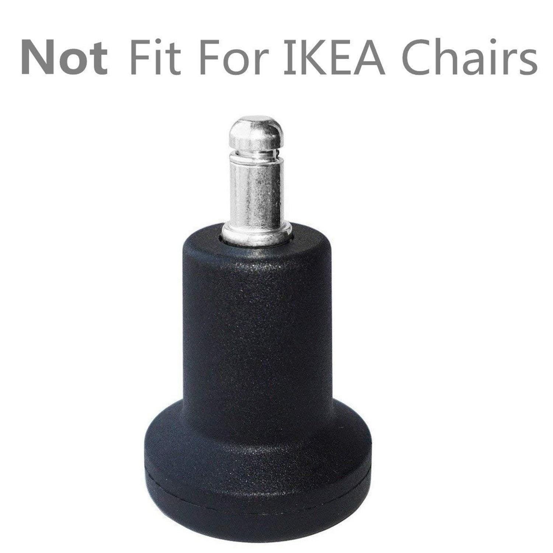patins a cloche de remplacement de profil eleve pour chaise de bureau sans roues et tabouret de bar glisse a roulettes fixes 5 unites par paquet