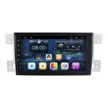 8″ Quad Core Android 4.4 1024X600 Car Radio DVD GPS Navigation Central Multimedia for Suzuki Grand Vitara 3G WIFI DVR Bluetooth