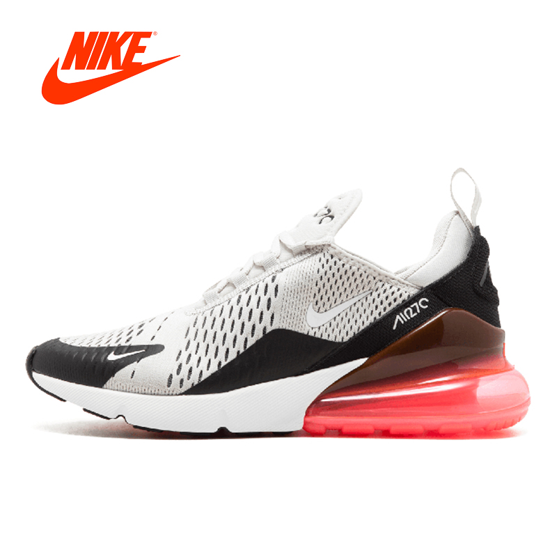 Nueva llegada Original auténticos Nike Air Max 270 zapatos corrientes del Mens zapatillas de deporte al aire libre respirable cómodo buena calidad